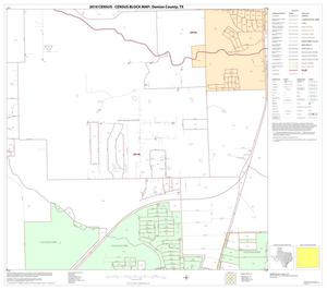 Primary view of object titled '2010 Census County Block Map: Denton County, Block 72'.