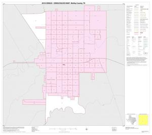 Primary view of object titled '2010 Census County Block Map: Motley County, Inset A01'.
