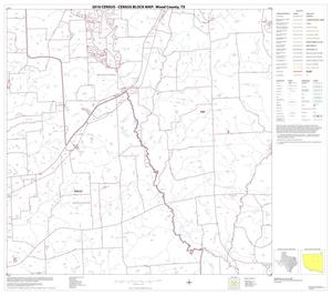 Primary view of object titled '2010 Census County Block Map: Wood County, Block 8'.