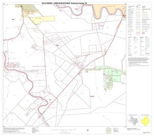 Primary view of object titled '2010 Census County Block Map: Brazoria County, Block 39'.
