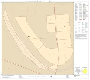 Primary view of object titled '2010 Census County Block Map: Brazoria County, Inset U01'.