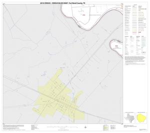 Primary view of object titled '2010 Census County Block Map: Fort Bend County, Block 14'.