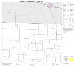 Primary view of object titled '2010 Census County Block Map: Deaf Smith County, Block 3'.