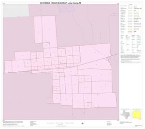 Primary view of object titled '2010 Census County Block Map: Lamar County, Inset E01'.