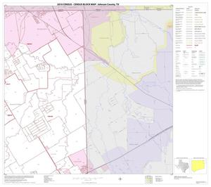 Primary view of object titled '2010 Census County Block Map: Johnson County, Block 5'.