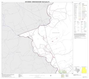 Primary view of object titled '2010 Census County Block Map: Real County, Block 27'.