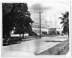 Primary view of object titled '[Stark High School in 1948]'.