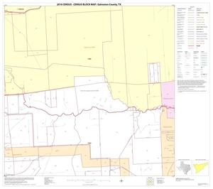 Primary view of object titled '2010 Census County Block Map: Galveston County, Block 23'.