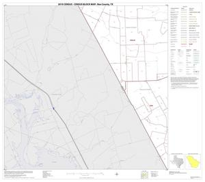 Primary view of object titled '2010 Census County Block Map: Bee County, Block 13'.