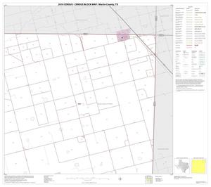 Primary view of object titled '2010 Census County Block Map: Martin County, Block 4'.