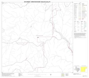 Primary view of object titled '2010 Census County Block Map: Edwards County, Block 19'.