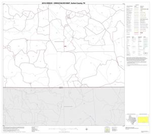 Primary view of object titled '2010 Census County Block Map: Sutton County, Block 22'.