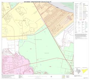 Primary view of object titled '2010 Census County Block Map: Galveston County, Block 14'.