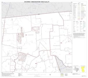 Primary view of object titled '2010 Census County Block Map: Waller County, Block 2'.