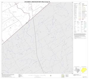 Primary view of object titled '2010 Census County Block Map: Wilson County, Block 18'.
