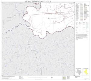 Primary view of object titled '2010 Census County Block Map: Brazos County, Block 17'.