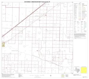 Primary view of object titled '2010 Census County Block Map: Parmer County, Block 5'.
