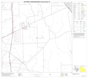 Primary view of object titled '2010 Census County Block Map: Atascosa County, Block 11'.