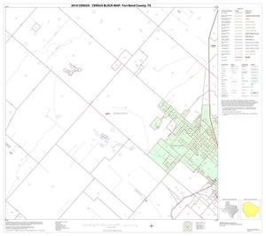 Primary view of object titled '2010 Census County Block Map: Fort Bend County, Block 56'.