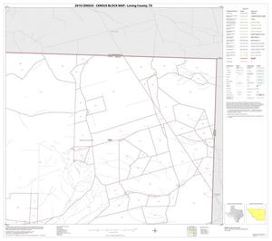 Primary view of object titled '2010 Census County Block Map: Loving County, Block 3'.