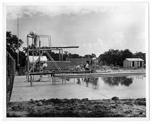 Primary view of object titled '[Swimming pool]'.
