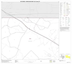 Primary view of object titled '2010 Census County Block Map: Kerr County, Block 3'.