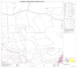 Primary view of object titled '2010 Census County Block Map: Montgomery County, Block 32'.