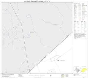 Primary view of object titled '2010 Census County Block Map: Refugio County, Block 1'.