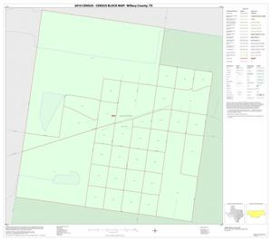 Primary view of object titled '2010 Census County Block Map: Willacy County, Inset E01'.