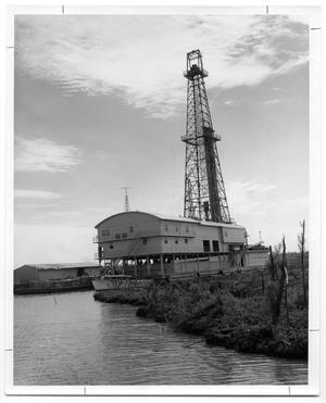 "Primary view of object titled '[Drilling rig ""Rome""]'."