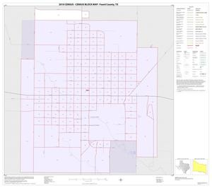 Primary view of object titled '2010 Census County Block Map: Foard County, Inset A01'.