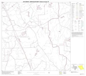 Primary view of object titled '2010 Census County Block Map: Anderson County, Block 6'.