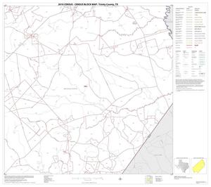 Primary view of object titled '2010 Census County Block Map: Trinity County, Block 5'.