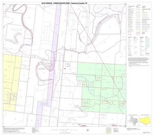 Primary view of object titled '2010 Census County Block Map: Cameron County, Block 35'.
