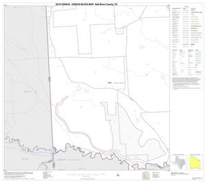Primary view of object titled '2010 Census County Block Map: Red River County, Block 32'.