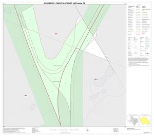 Primary view of object titled '2010 Census County Block Map: Hill County, Inset H01'.