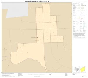 Primary view of object titled '2010 Census County Block Map: Leon County, Inset E01'.