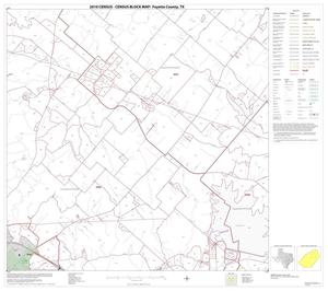 Primary view of object titled '2010 Census County Block Map: Fayette County, Block 7'.