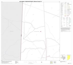Primary view of object titled '2010 Census County Block Map: Culberson County, Block 19'.