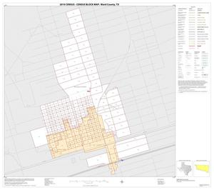Primary view of object titled '2010 Census County Block Map: Ward County, Inset B01'.