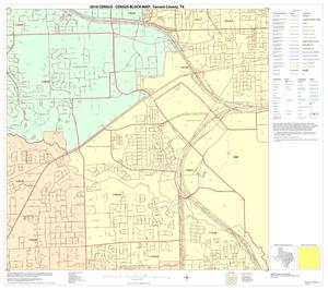 Primary view of object titled '2010 Census County Block Map: Tarrant County, Block 15'.