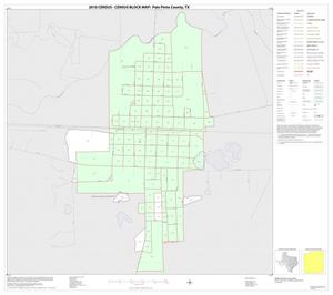 Primary view of object titled '2010 Census County Block Map: Palo Pinto County, Inset D01'.