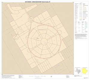 Primary view of object titled '2010 Census County Block Map: Bexar County, Inset E01'.