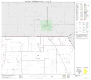 Primary view of object titled '2010 Census County Block Map: Brown County, Block 2'.