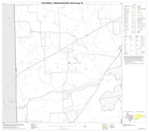 Primary view of object titled '2010 Census County Block Map: Delta County, Block 12'.