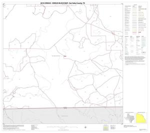 Primary view of object titled '2010 Census County Block Map: San Saba County, Block 21'.