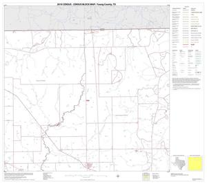 Primary view of object titled '2010 Census County Block Map: Young County, Block 3'.