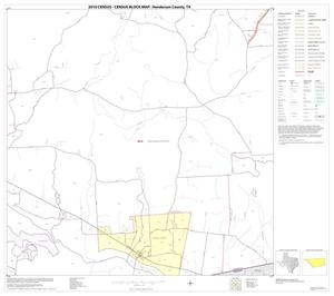 Primary view of object titled '2010 Census County Block Map: Henderson County, Block 23'.