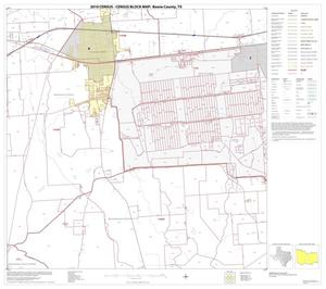 Primary view of object titled '2010 Census County Block Map: Bowie County, Block 11'.