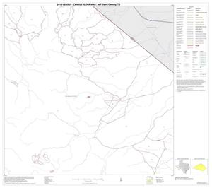 Primary view of object titled '2010 Census County Block Map: Jeff Davis County, Block 6'.